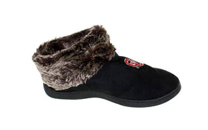 Oklahoma Sooners Faux Sheepskin Furry Top Indoor/Outdoor Slippers