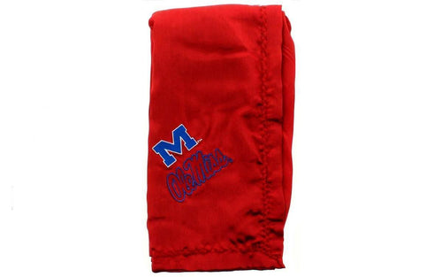 Ole Miss Rebels Baby Blanket