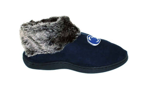 Penn State Nittany Lions Faux Sheepskin Furry Top Indoor/Outdoor Slippers