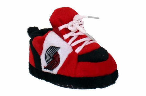 Portland Trailblazers Baby Slippers