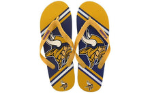 Load image into Gallery viewer, Minnesota Vikings Big Logo Flip Flop