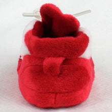 Load image into Gallery viewer, Wisconsin Badgers Baby Slippers