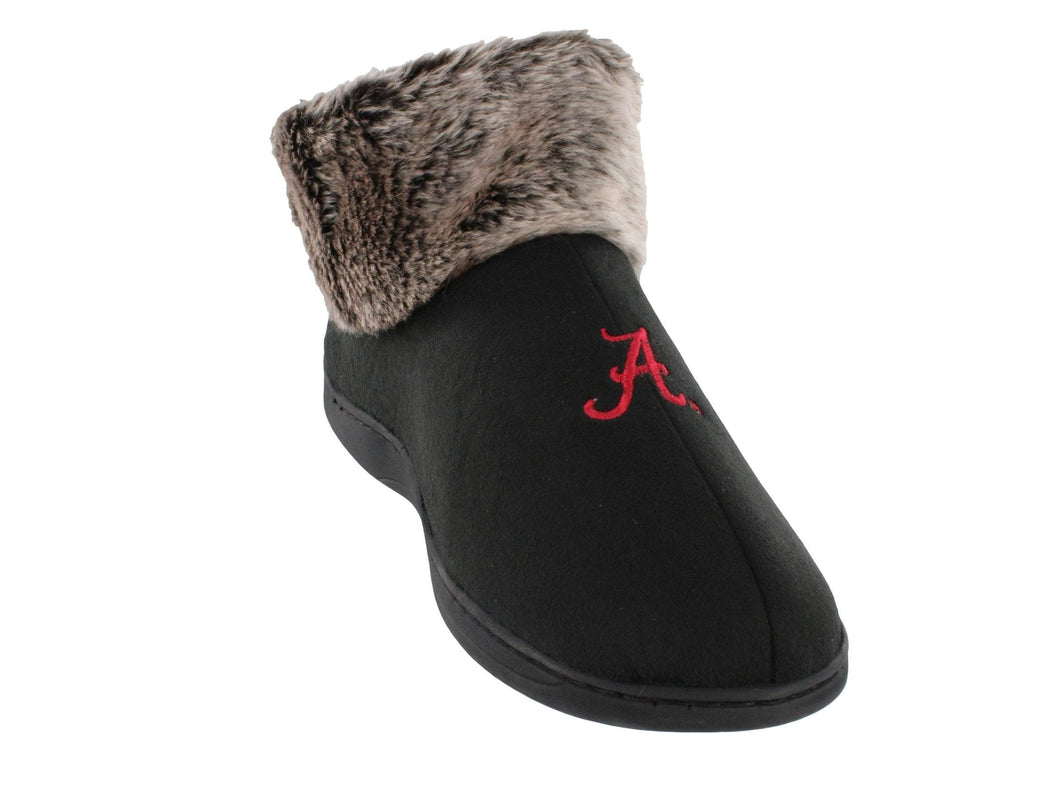 Alabama Crimson Tide Faux Sheepskin Furry Indoor/Outdoor Slippers