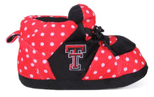 Load image into Gallery viewer, Texas Tech Red Raiders Polka Dot Slippers