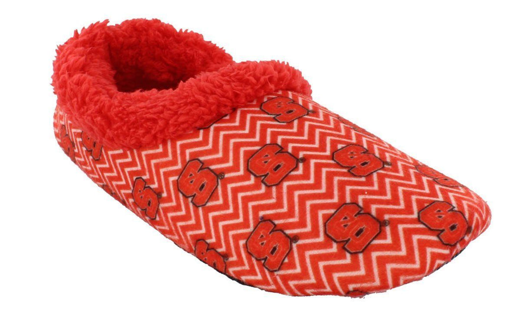 NC State Wolfpack Chevron Slip On