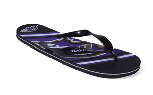 Baltimore Ravens Big Logo Flip Flop