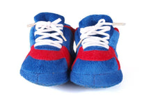 Load image into Gallery viewer, Kansas Jayhawks Baby Slippers