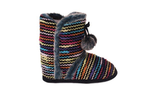 Multi Color Moccasin Boot