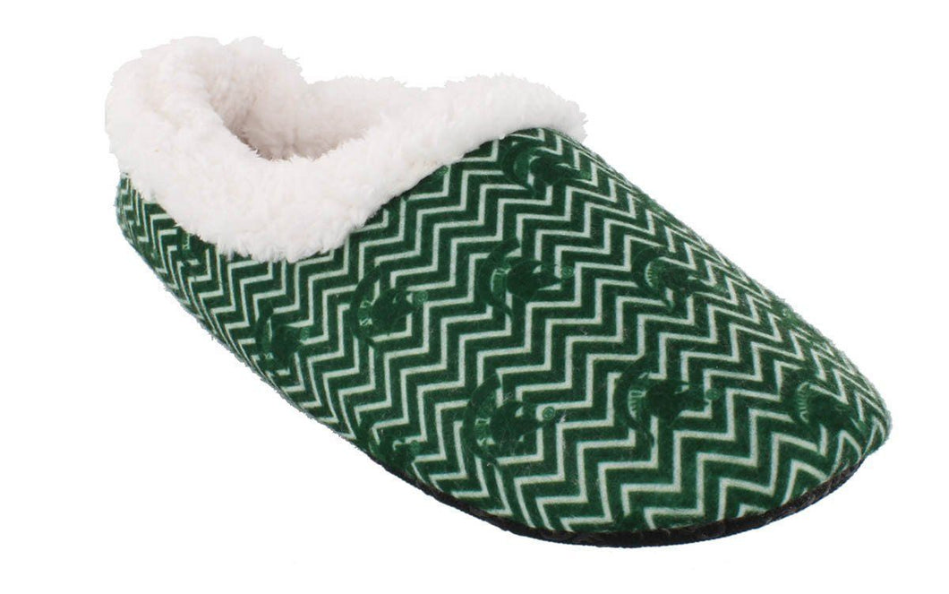 Michigan State Spartans Chevron Slip On