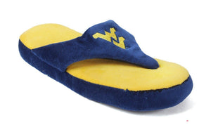 West Virginia Mountaineers Comfy Flops