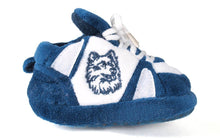 Load image into Gallery viewer, Connecticut Huskies Baby Slippers