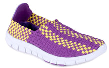 Load image into Gallery viewer, LSU Tigers Woven Shoe