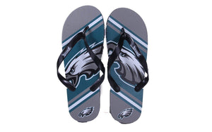 Philadelphia Eagles Big Logo Flip Flops