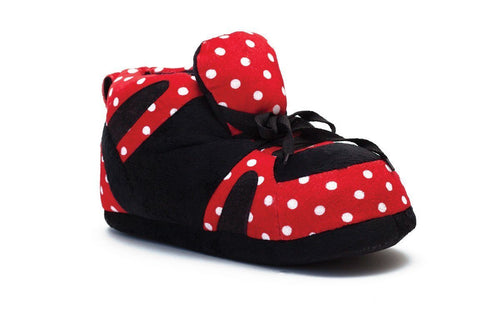 Red and Black with White Polka Dot