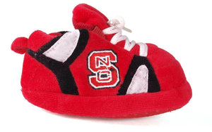 NC State Wolfpack Baby Slippers