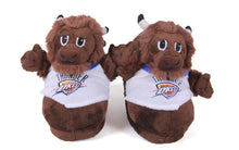 Load image into Gallery viewer, Oklahoma City Thunder Mascot Slippers