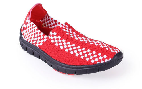 Wisconsin Badgers Woven Shoe