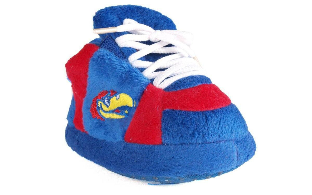 Kansas Jayhawks Baby Slippers