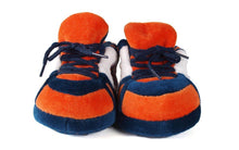 Load image into Gallery viewer, Auburn Tigers Baby Slippers