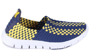 Michigan Wolverines Woven Shoe