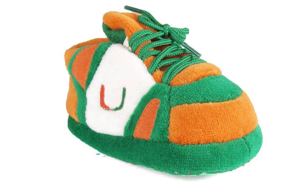 Miami Hurricanes Baby Slippers