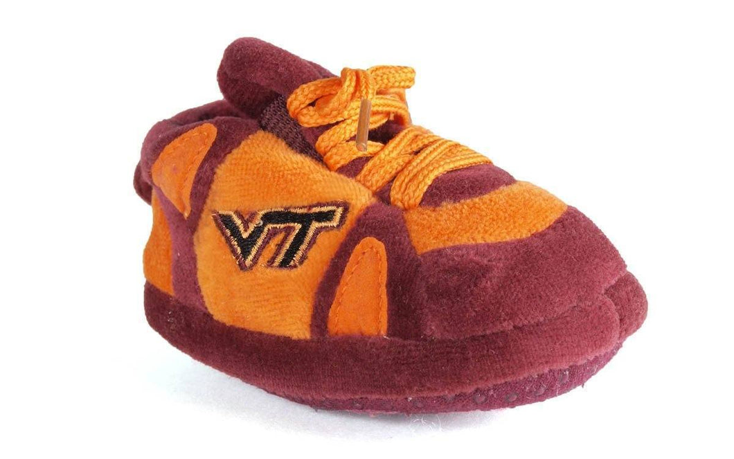 Virginia Tech Hokies Baby Slippers