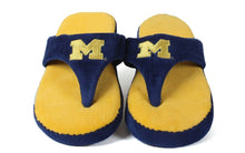 Load image into Gallery viewer, Michigan Wolverines Comfy Flop