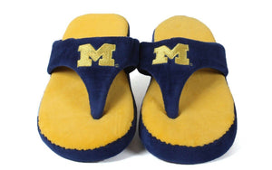 Michigan Wolverines Comfy Flop