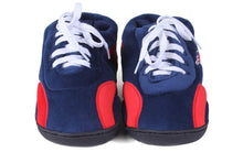 Load image into Gallery viewer, NFL sneaker slippers new england patriots slippers front view