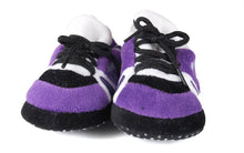 Load image into Gallery viewer, Kansas State Wildcats Baby Slippers