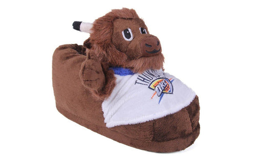 Oklahoma City Thunder Mascot Slippers
