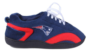 NFL sneaker slippers new england patriots slippers front view