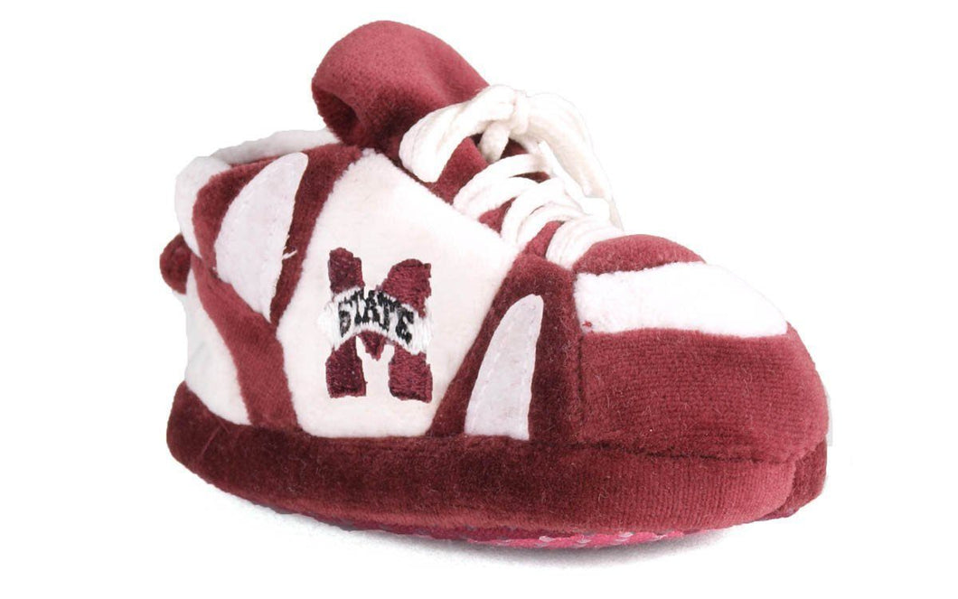 Mississippi State Bulldogs Baby Slippers