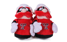 Load image into Gallery viewer, Texas Tech Red Raiders Mascot Slippers