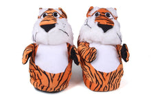 Load image into Gallery viewer, Auburn Tigers Mascot Slippers