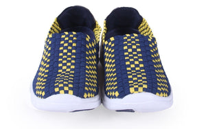 West Virginia Mountaineers Woven Shoe