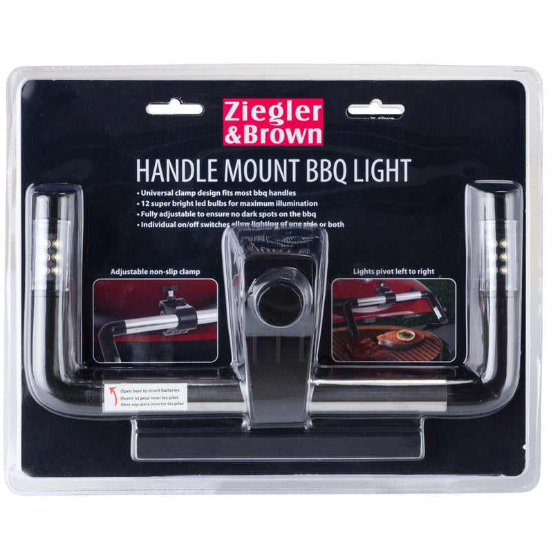 Ziegler & Brown BBQ Handle Mount Light