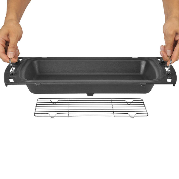 Ziegler & Brown Triple Grill Baking Dish & Rack (Cast Iron)