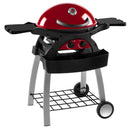 Ziegler & Brown Bbq Twin Grill Chilli Red 9036