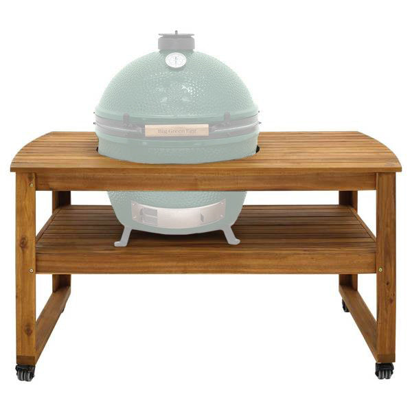 Big Green Egg Solid Acacia Hardwood Table for XLarge EGG