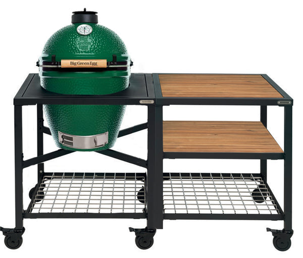 Big Green Egg Large Big Green Egg (LARGE) - Modular Frame Nest Extended Acacia Bundle