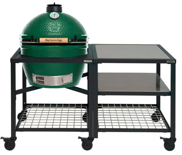 Big Green Egg XLarge Big Green Egg (XLARGE) - Modular Frame Nest Extended Stainless Steel Bundle