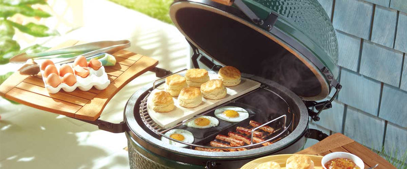 Big Green Egg EGGspander System, Large, SS  Half Grid (LARGE)