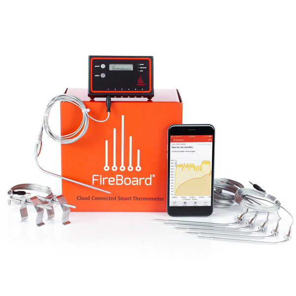 FireBoard Cloud Thermometer Extreme BBQ Edition (6 Food, 2 Ambient Probe Kit)