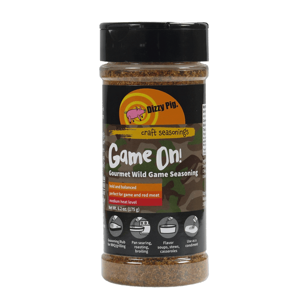 DIZZY PIG - Game On BBQ Rub