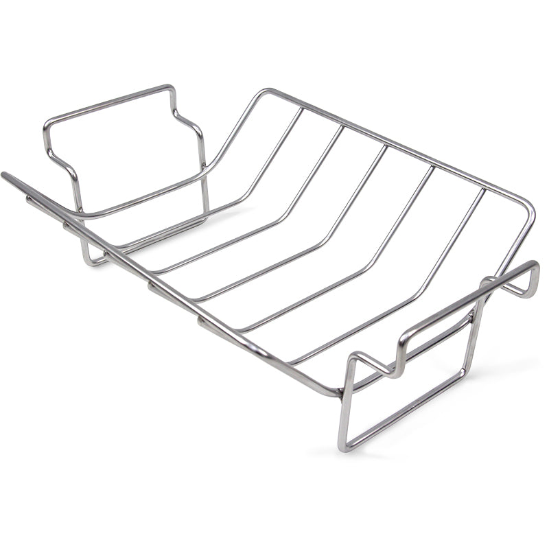 Big Green Egg Stainless Steel Rib and Roast Rack for XXL, XL & L EGG