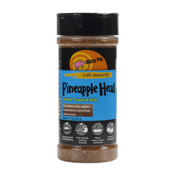 DIZZY PIG - Pineapple Head BBQ Rub