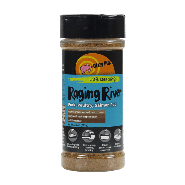 DIZZY PIG - Raging River BBQ Rub