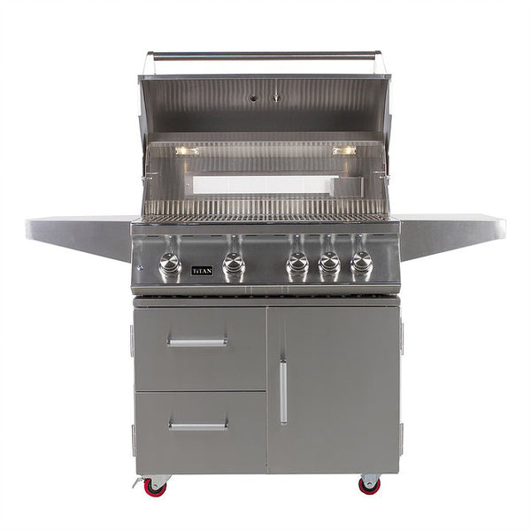 TITAN 4 Stainless Steel Gas Grill