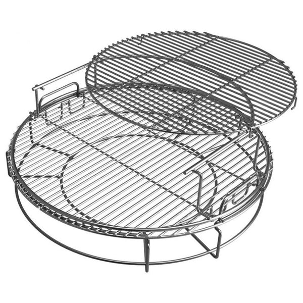 Big Green Egg EGGspander System, XLarge, 5 Piece, 3 Tier Rack (XLARGE)